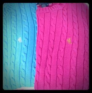 Ralph Lauren Sweater Bundle Sz. Small